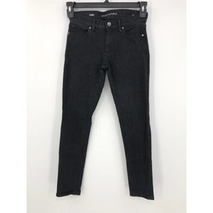 Banana Republic Jeans Skinny Ankle Washed Black